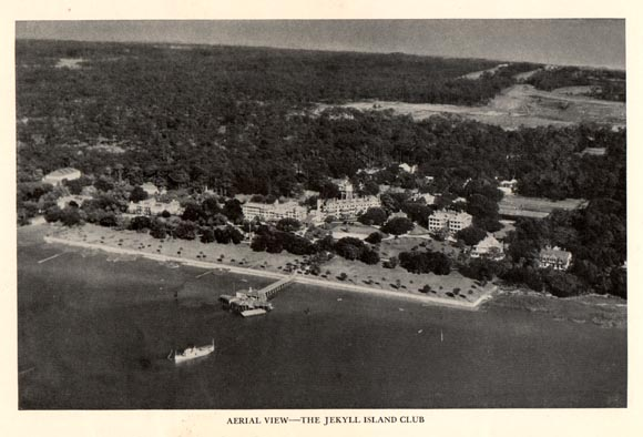 Jekyll aerial view during WWII