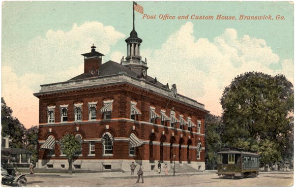 Post Office and Custom House, Brunswick, Georgia